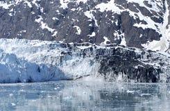 Smeltende Gletsjer royalty-vrije stock afbeeldingen