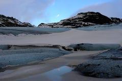 Smeltende gletsjer Royalty-vrije Stock Afbeelding