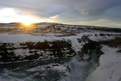 Smeltende gletsjer Royalty-vrije Stock Fotografie