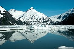 Smeltende Gletsjers Stock Fotografie