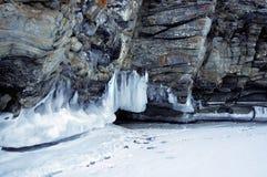 Smeltende gletsjers Stock Foto's