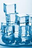 Smeltende ijsblokjes Royalty-vrije Stock Fotografie