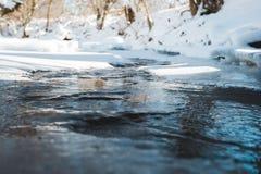 Smeltende Kreek Stock Afbeeldingen