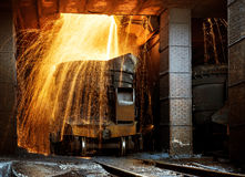 Smelter Royalty Free Stock Image