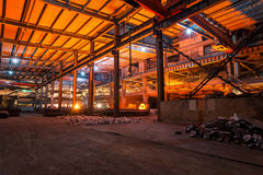 A smelter plant in Yunnan China Royalty Free Stock Photo