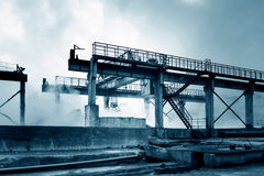 Smelter Royalty Free Stock Photos