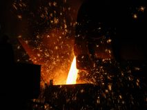 Smelting Royalty Free Stock Photos