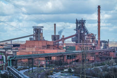 Smelting furnace in Duisburg, Germany Royalty Free Stock Photography