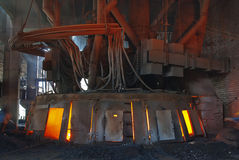 Smelting industry Royalty Free Stock Image