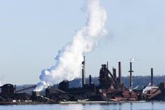 Smelting plant Stock Photos