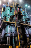 Smelting plant Stock Photo