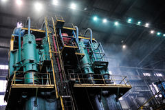 Smelting plant Royalty Free Stock Photos