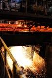 Smelting plant Stock Photography