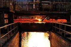 Smelting plant Stock Image