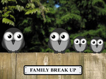Smembramento della famiglia Immagine Stock