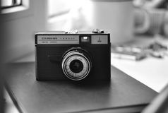 Smena, Manual Camera, Vintage Camera, Lomo, USSR Camera, Retro Film. Royalty Free Stock Photography