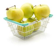 Smeralda της Apple που απομονώνεται Στοκ φωτογραφία με δικαίωμα ελεύθερης χρήσης