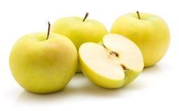 Smeralda της Apple που απομονώνεται Στοκ Εικόνα