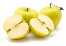 Smeralda της Apple που απομονώνεται Στοκ Φωτογραφίες