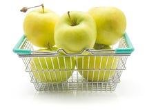 Smeralda της Apple που απομονώνεται Στοκ Εικόνες