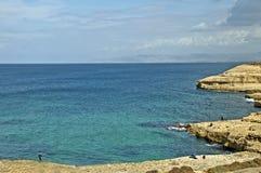 Smeralda de côte Images libres de droits