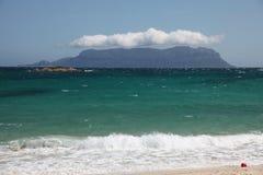 Smeralda de côte d'île de Sardegna Tavolara Photo stock