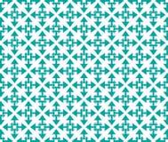 Smeraldo a forma di stella del modello delle frecce Fotografia Stock Libera da Diritti