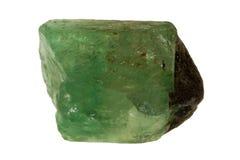 Smeraldo grezzo Immagini Stock Libere da Diritti