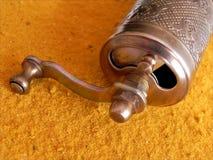 Smerigliatrice antica Curry Immagini Stock