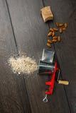 Smerigliatrice della mandorla Fotografia Stock
