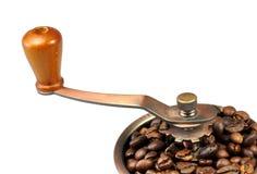 Smerigliatrice di caffè fotografia stock