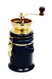 Smerigliatrice di caffè (isolata) Fotografia Stock