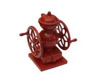 Smerigliatrice di caffè isolata del giocattolo Fotografie Stock