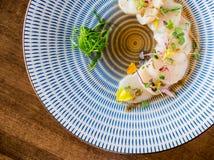 Smerla il sashimi da sopra fotografia stock libera da diritti