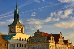 The Smetana Museum (Muzeum Bed�icha Smetany), Old Buildings, Moldau, Old Town, Prague,  Czech Republic Royalty Free Stock Image