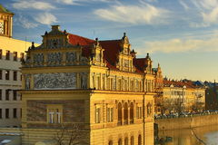 The Smetana Museum (Muzeum Bed�icha Smetany), Old Buildings, Moldau, Old Town, Prague,  Czech Republic Stock Photo