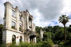 Smetsky王子宫殿的废墟  免版税库存图片
