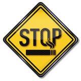 Smetta di fumare illustrazione di stock