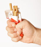 Smetta di fumare Fotografia Stock Libera da Diritti