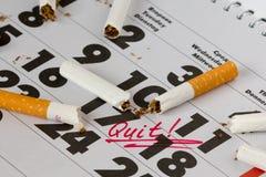 Smetta di fumare Fotografie Stock