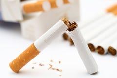 Smetta di fumare! fotografia stock libera da diritti