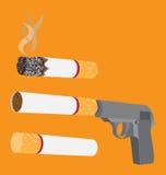 Smetta di fumare Immagine Stock Libera da Diritti