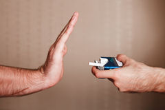 Smetta di fumare il concetto Immagini Stock Libere da Diritti
