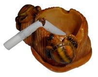 Smetta di fumare il tema Fotografie Stock Libere da Diritti