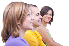 Smiilng students Royalty Free Stock Photo