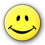 Smile!. A smile icon for web usage Royalty Free Stock Images