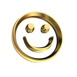 Smile. 3D illustration stock illustration