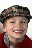Smile. A smile of a child who has lost his first milk tooth royalty free stock photography