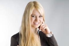 The smile Royalty Free Stock Photo