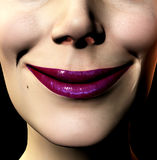 Smile. This is a close up of a smiling women Stock Images